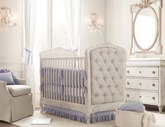 The Collette crib from restorative hardware! My future child's crib! Love love love it!