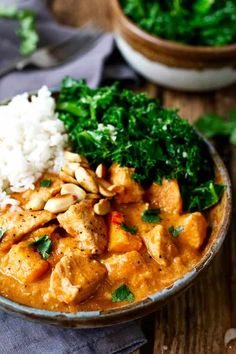 African Chicken and Peanut Stew - Mandie Kidder Larson - African Chicken and Peanut Stew African Chicken & Peanut Stew. A slightly spicy, chicken and peanut stew that can be eaten on its own, or with rice. African Stew, African Peanut Stew, Stew Chicken Recipe, Recipe Stew, Chicken African Recipe, Chicken Feed, Chicken Recipes, Baked Cod Recipes, Cooking Recipes