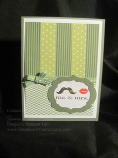 Mustache! by Jamie VH - Cards and Paper Crafts at Splitcoaststampers
