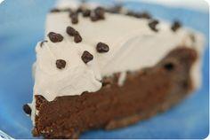 Yummy, rich, chocolate cake.