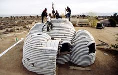 Ecodome in construction