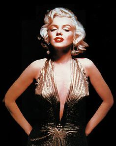 Marilyn Monroe...this hair is so perfect!!