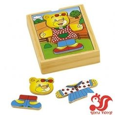 Bear dress-up-Manhattan Toy,Mattel,Melissa & Doug,MindWare,Munchkin,Plan Toys,Pressman Toy,Sassy,Sesame Street