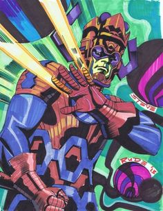 browsethestacks:  Galactus by Steve Rude