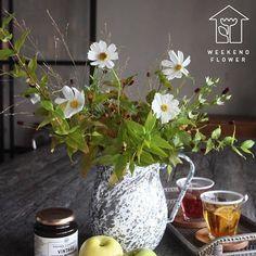 良い週末を photo by @weekendflower_official  #repost #GreenSnap #花のある暮らし  #金曜日 #flowerstagram #weekendflower #花