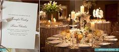 Tonos blancos para una boda elegante y tradicional