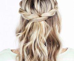boho chic wedding hair inspo