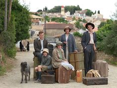 """The Durrells: a new 6 part period drama set in 1935. From ITV & based on Gerald Durrell's classic Corfu memoirs including """"My Family and Other Animals."""""""