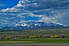 """Located to the east of Bozeman, the Crazy Mountains (""""Crazies"""") are home to mountain goats and wolverines, alpine lakes, and are drier and less densely forested than most other Montana ranges due to their easterly location."""