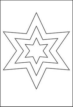 Gro E Star templates Christmas star template Presentation star with template Christmas star The Effective Pictures We Offer You About Star Coloring Pages, Free Printable Coloring Pages, Coloring Pages For Kids, Felt Christmas Ornaments, Christmas Star, Applique Patterns, Craft Patterns, Star Template Printable, Stencil