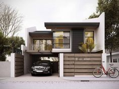 Designs/ house layouts, building a house, design rumah, house essentials, t 2 Storey House Design, House Front Design, Home Modern, Modern House Plans, Minimalist House Design, Modern House Design, Bungalow House Design, House Essentials, Facade Design