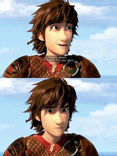OMG I JUST REALIZED!!! HICCUP IS ACCEPTING THAT PEOPLE ACCEPTING HIS DIFFERENCE WASN'T GOING TO LAST IN THIS SCENE! HES BECOMING LONELY AGAIN AND HE THINKS HE'S ABOUT TO BE A LONER AGAIN!!!!!!!!!