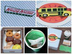 Krispy Creme Gift Ideas. Bus Driver Gifts. Apples For Teachers. Doughnut Gifts. #PicMonkeySmarts #EDUSpin