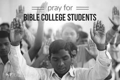 Young in the Lord, many Bible college students in Asia are seeking to grow in their faith. They are praying God will guide their lives. Will you join them in praying for God's guidance for their future?