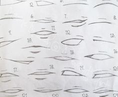 Mouth Here is a fantastic anime & manga mouths & lips drawing tutorial for all of those japanese illustration fanatics out there. Description from I searched for this on images Cartoon Drawings, Mouth Drawing, Art Reference Poses, Manga Mouth, Drawings, Manga Drawing, Japanese Illustration, Design Reference, Lips Drawing