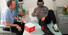 Virtual reality aims to transport lonely patients out of the hospital bed