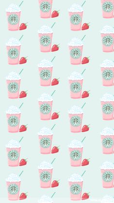 Starbucks ★ Find more Funky Patterns for your + iPhone Wallpa. Food Wallpaper, Wallpaper For Your Phone, Tumblr Wallpaper, Screen Wallpaper, Best Iphone Wallpapers, Cute Wallpapers, Coffee Wallpapers, Cute Backgrounds, Wallpaper Backgrounds