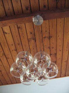 Star Pendant Light in a Mid Century Modern House in Atlanta GA - Home of Artezoid by Dawn Valdez