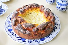 miss red fox- Pasca - Romanian Easter cake - a traditional recipe combining braided brioche and cheese cake