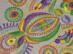 Broderie Glazig. Glazig embroidery.