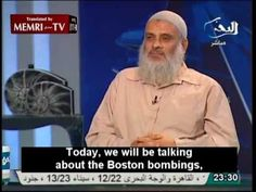 "MUST WATCH VIDEO-EGYPTIAN CLERIC: BOSTON BOMBS WERE MESSAGE FROM MUJAHIDEEN [AND FRANCE IS NEXT] -- Our friends in Egypt can be so empathetic. Take for example this interview with Egyptian Salafi cleric Sheik Murgan Salem, which aired on Tahrir TV yesterday the day after the Boston Marathon Bombing. This ""religious leader"" gave his take on the bombing, that it was a message from Mujahideen to the United States and indeed all the West (especially France): you will be destroyed. [...] 04/17/13"