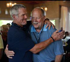 Brett Favre & Mike Holmgren, 2 Green Bay Greats.
