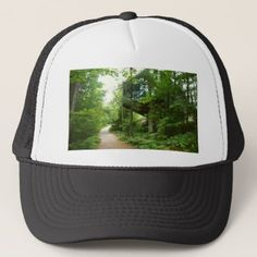 Hidden in the forest trucker hat - country gifts style diy gift ideas