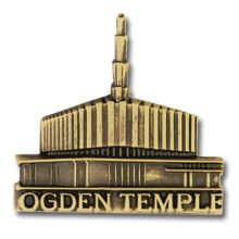 Ogden Temple Pin - $4.95