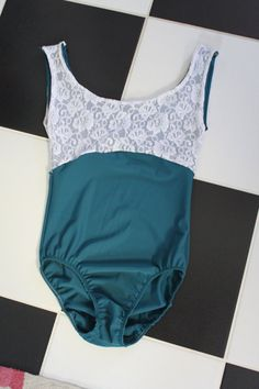 The Jacqueline Leotard by LoneReedDesigns on Etsy, $42.00. What great colors!