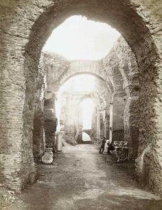 Fratelli Alinari, Nymphaeum, The Palatine, Rome, Lazio, Italy