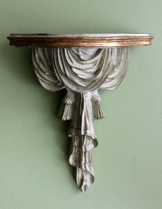 Wall Hanging Display Shelf. Resin Ornate by AnythingDiscovered, $24.00