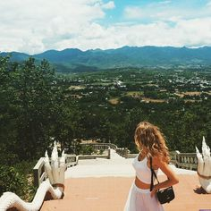 essenaoneill: View from Wat Phra That Mae Yen // PAI, THAILAND // Additional girl hack: remembering to pack and use a hairbrush is always a good option