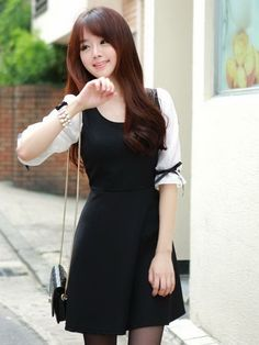 korean fashion - cute dress