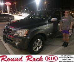 Congratulations to Megan Frontiera on your #Kia #Sorento purchase from Ruth Largaespada at Round Rock Kia! #NewCar