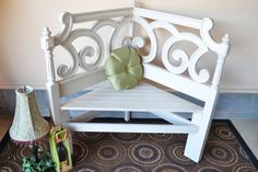 Repurposed BenchThE EncHanTed by ThELocKe on Etsy, $150.00