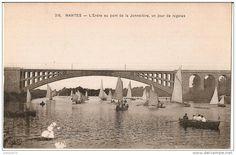 Régates sur l'Erdre au pont de la Jonnelière