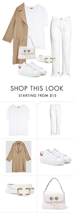 """Untitled #7130"" by ijustlikefashionman ❤ liked on Polyvore featuring Yeezy by Kanye West, H&M, adidas Originals and J.W. Anderson"