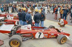 Ferrari 312B, Ickx, Regazzoni, Andretti