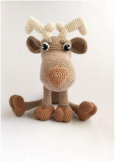 Reindeer  amigurumi pattern crochet PDF file in Dutch от Alinies