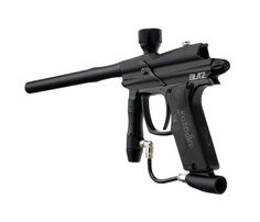 """Azodin 2011 Blitz Electronic Paintball Marker - Black by Azodin. $169.95. BLITZ Combines the revolutionary """"FEATHER Striker System"""" with the feature-laden """"ZEN"""" Circuit Board to give players an unparalleled edge.The new """"Feather Striker System"""" is 30% lighter than traditional striker design. This breakthrough reduces the mechanical recoil. This recoil reduction gives players a smoother shooting marker. The """"ZEN"""" Circuit Board comes standard with advanced modes t..."""