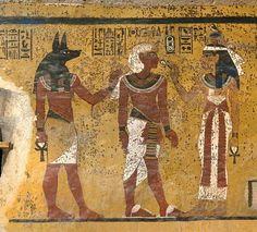 Akhenaton's son (Queen Tiye's grandson ), Pharoah Tutankhamen