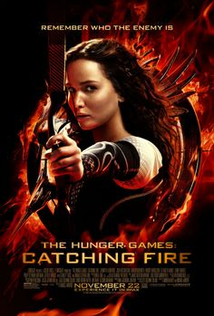 Jennifer Lawrence Lights Up Final, Flame-Licked 'Catching Fire' Poster