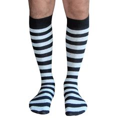 Black & light gray athletic tube style mens knee socks. Shop our entire Mens collection. Chrissy's Socks 877-862-6267