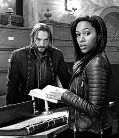 Ichabbie. I ship them so hard, sometimes I think I need to hit myself in the face with a brick or something.