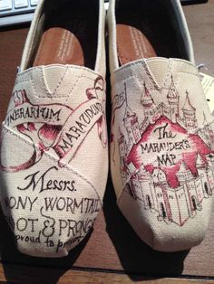 Marauder's Map Toms | The 30 Most Perfect Gifts For Your Biggest Harry Potter Friends This Holiday Season