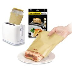 Grilled Cheese Toaster Bags!