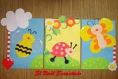 Resultado de imagen para bolsitas de fin de jardin Creepy, Kindergarten, Preschool, Google, Gardens, Paper Purse, Capes, Decorated Boxes, Wood