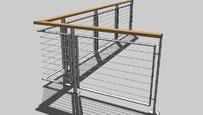 3D Model of Iron railings铁栏杆
