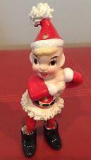 VINTAGE Ceramic Pixie Elf Figurine KREISS Santas Helper.  A21 Christmas Past, Christmas Photos, Family Christmas, Vintage Christmas, Christmas Ornaments, Twas The Night, Vintage Ceramic, Pixie, Elf