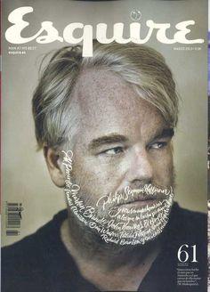 Esquire Spanish Magazine - Philip Seymour Hoffman